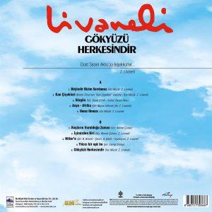 Zülfü Livaneli Gökyüzü Herkesindir - Plak