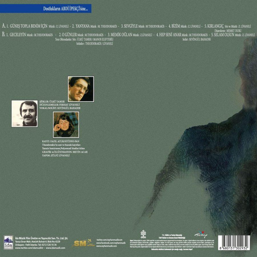 Zülfü Livaneli & Mikis Theodorakis Güneş Topla Benim İçin - Plak