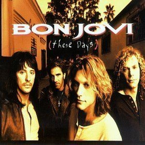 Bon Jovi These Days Plak