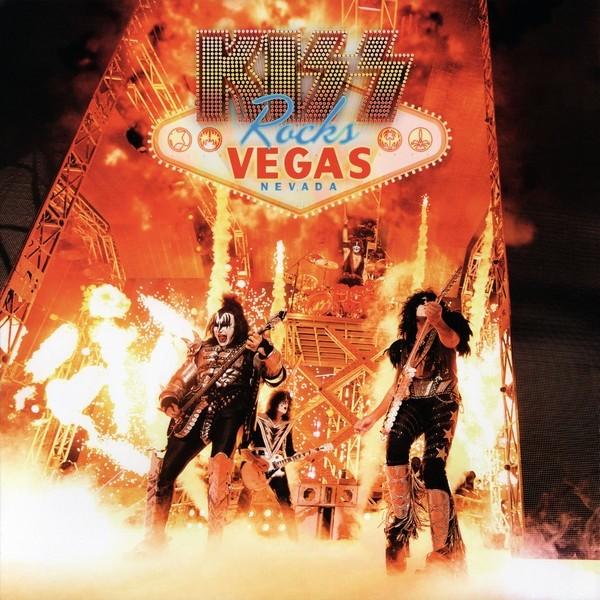 Kiss Rocks Vegas Plak