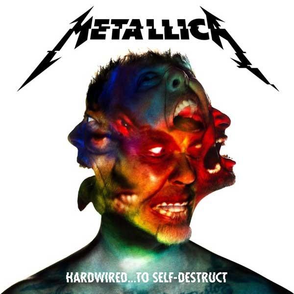 Metallica Hardwired To Self Destruct Standard Vinyl Plak