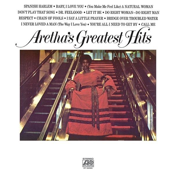 Aretha Franklin Greatest Hits (Vinyl) Plak