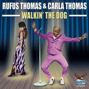 Rufus Thomas Walking The Dog Plak