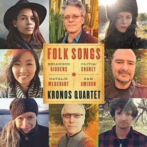 Kronos Quartet Folk Songs Plak