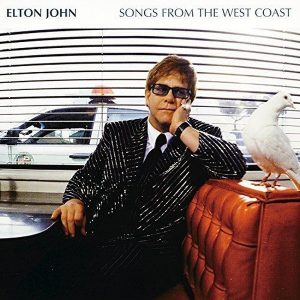 Elton John Songs From The West Coast Plak