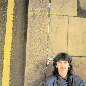 George Harrison Somewhere in England Plak