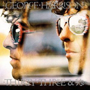 George Harrison Thirty Three & 1/3 Plak