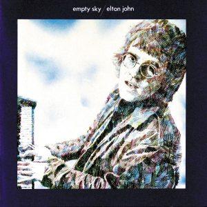 Elton John Empty Sky Plak