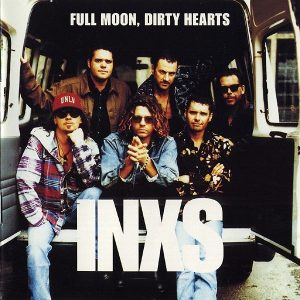 Inxs Full Moon Dirty Hearts Plak