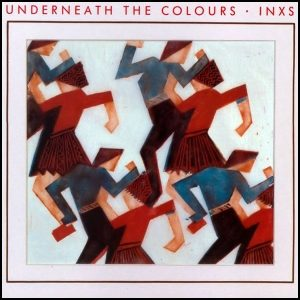 Inxs Underneath The Colours Plak