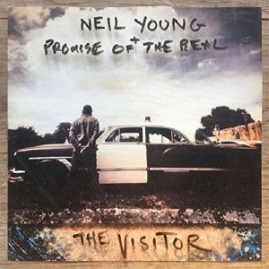 Neil Young The Visitor Plak