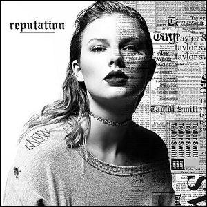 Taylor Swift Reputation Plak