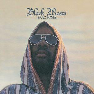 Isaac Hayes Black Moses Plak