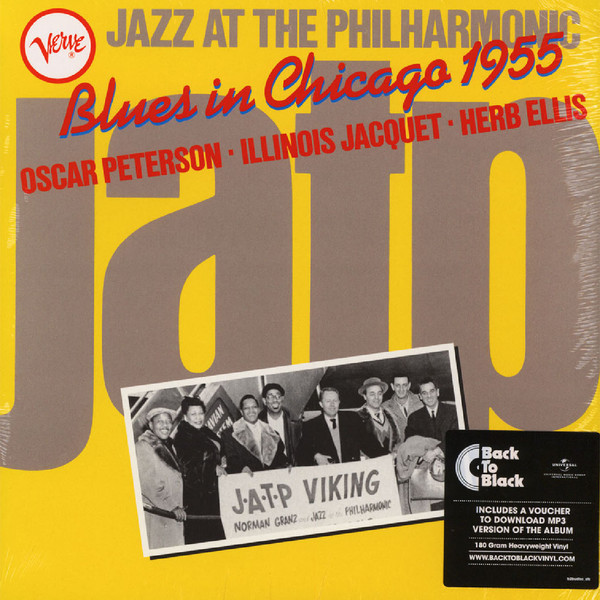 Jazz At The Philharmonic Blues in Chicago 1955 Plak