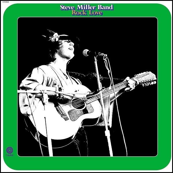 Steve Miller Band Rock Love Plak