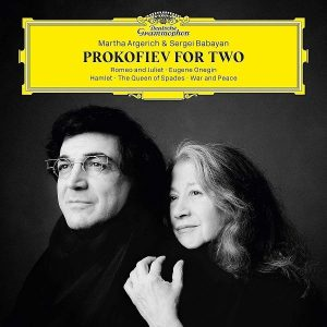 Sergei Babayan Martha Argerich Prokofiev For Two