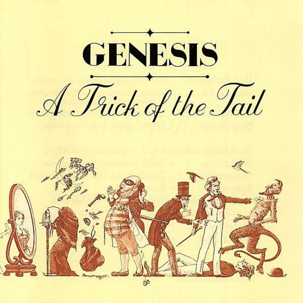 Genesis A Trick Of The Tail (2018 Reissue) Plak