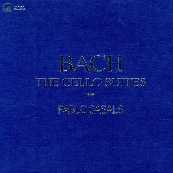 Pablo Casals Bach: The Cello Suites Plak