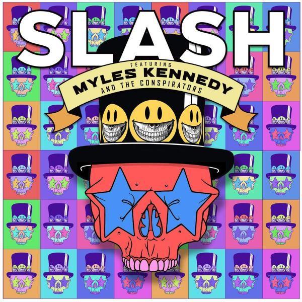 Slash Living The Dream Plak