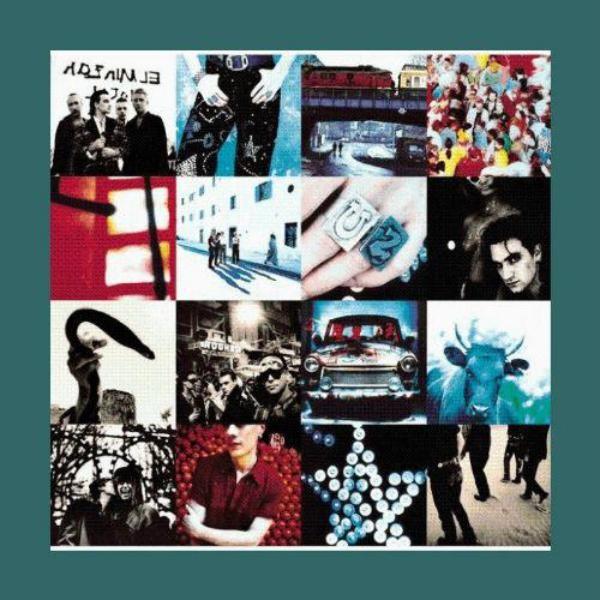 U2 Achtung Baby (Remastered) Plak