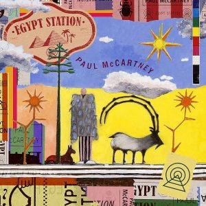 Paul McCartney Egypt Station Plak
