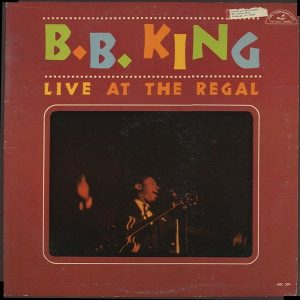 B. King Live At The Regal (Limited) Plak