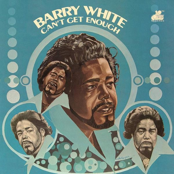 Barry White Can'T Get Enough Plak