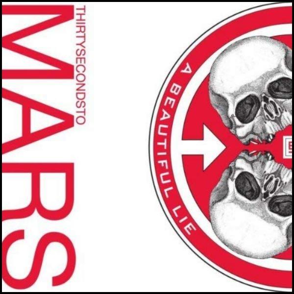 30 Seconds To Mars A Beautiful Lie (Red Vinyl) Plak