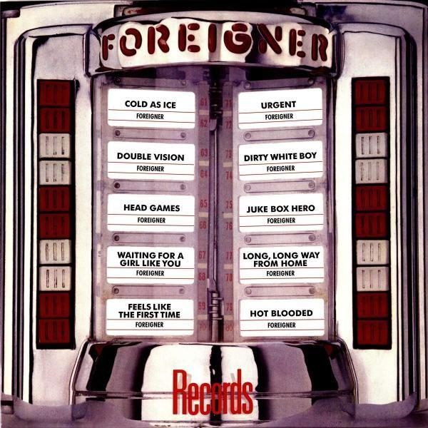 Foreigner Records Plak