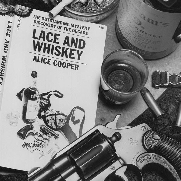 Alice Cooper Lace And Whiskey Plak