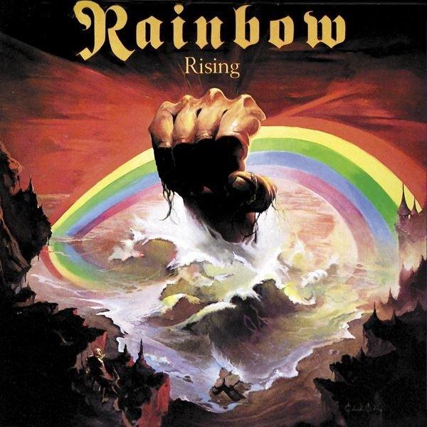 Rainbow Rising Purple Vinyl Limited Plak