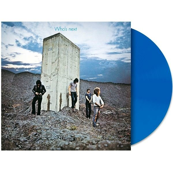 The Who Who's Next Blue Vinyl Plak