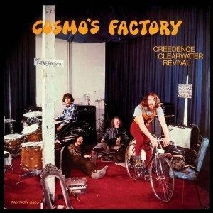 Creedence Clearwater Revival Cosmo's Factory LP Plak