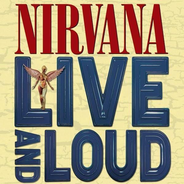 Nirvana Live And Loud Plak
