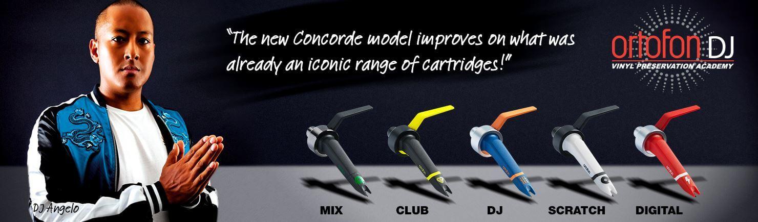 Ortofon Concorde MKII Mix Twin DJ Pikap iğnesi