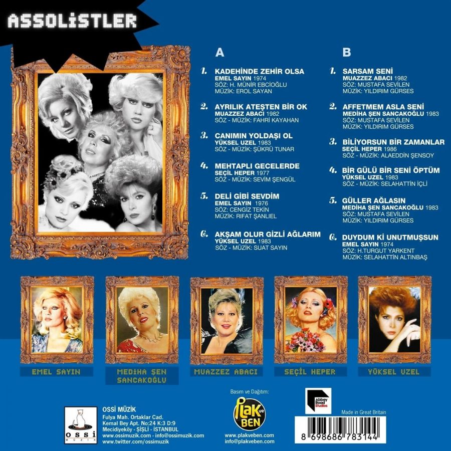 Assolistler - Plak