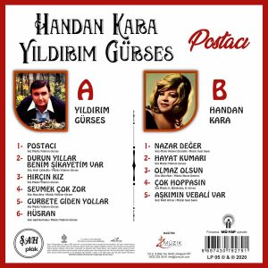 Handan Kara & Yıldırım Gürses Postacı - Plak