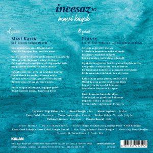 İncesaz Mavi Kayık 10 Single - Plak