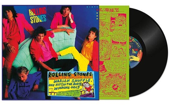 The Rolling Stones Dirty Work: Remastered - Plak