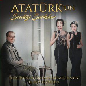 Atatürk'ün Sevdiği Şarkılar Kırmızı Beyaz Renkli Plak