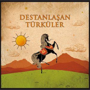 Destanlaşan Türküler Çeşitli Sanatçılar Plak
