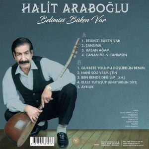 Halit Araboğlu Belimizi Büken Var Plak