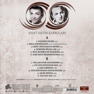 Zeki Müren Suat Sayın Şarkıları Plak