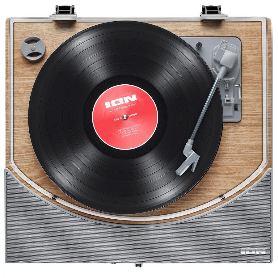 ION Premier LP Hoparlörlü Bluetooth Ahşap Pikap